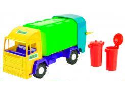 Mini truck - игрушечный мусоровоз (желтая кабина), 30 см, Wader