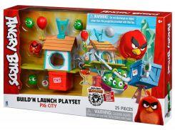 Pig city - построй и запусти, большой набор (25 эл.), Angry Birds