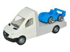 Автомобиль Mercedes-Benz Sprinter (белый эвакуатор), 1:24, Тигрес