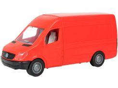 Автомобиль Mercedes-Benz Sprinter (грузовой красный), 1:24, Тигрес