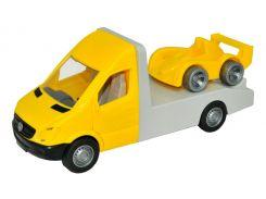 Автомобиль Mercedes-Benz Sprinter (желтый эвакуатор), 1:24, Тигрес