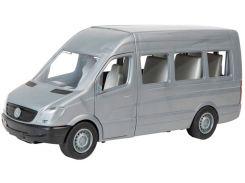 Автомобиль Mercedes-Benz Sprinter (пассажирский серый), 1:24, Тигрес