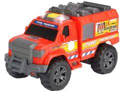 Автомобиль Пожарная служба (звук, свет), 20 см, Dickie Toys