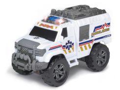Автомобиль Скорая помощь (звук, свет), 20 см, Dickie Toys