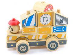 Автомобиль-конструктор Ремонтная машина, Мир деревянных игрушек