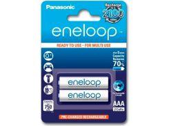 Аккумуляторы Eneloop AAA (750 2BP mAh Ni-Mh), 2 шт, Panasonic