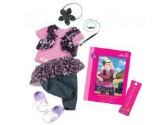 Аксессуары для кукол Одежда для выступления и книга Лэйлы (9 предметов), Our Generation