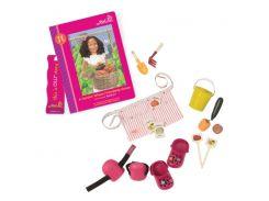 Аксессуары для кукол Одежда садовода и книга Нахлы (18 предметов), Our Generation