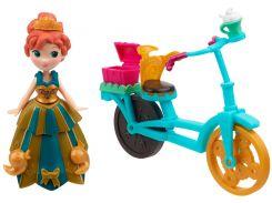 Анна на велосипеде, Маленькое королевство, Disney Frozen Hasbro