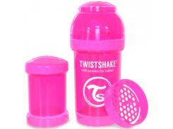 Антиколиковая бутылочка 180 мл, розовая, Twistshake
