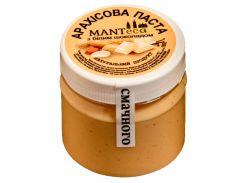 Арахисовая паста Manteca с белым шоколадом 180 г (18002)