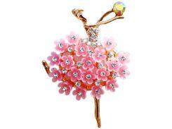Ароматизатор для авто Балерина, лаванда и персик (розовый), АвтоАрома