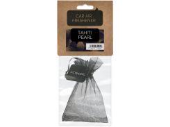 Ароматизатор для автомобиля бусинки (жемчужины) в мешочке, Жемчужина Таити, ACappella