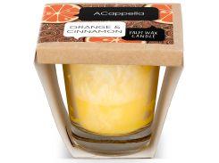 Ароматическая свеча Апельсин в корице, 100 гр., ACappella