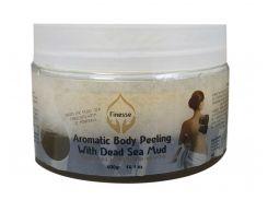 Ароматический пилинг для тела на основе грязи Мертвого моря, 400 мл, Finesse