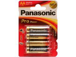 Батарейки Pro Power AA (Alkaline), 4 шт, Panasonic