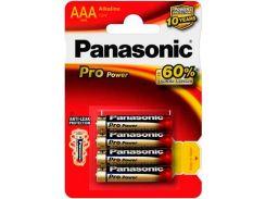 Батарейки Pro Power AAA (Alkaline), 4 шт, Panasonic