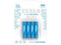 Батарейки TESLA Blue+ цинк-углеродные 1.5V AAA/R03 (392196)
