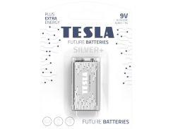 Батарейки TESLA Silver+ щелочные 9V/6LR61 (392301)