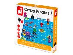 Безумные пираты, настольная игра, Janod