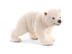 Белый медвежонок на прогулке, игрушка-фигурка, Schleich