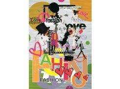 Блокнот Аркуш Fashion В6 в клетку 176 листа (1В702)