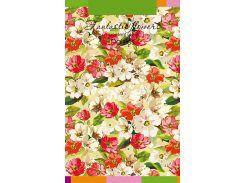 Блокнот Аркуш Flowers 12.5 × 20.0 см в точку 80 листов (1NB846)