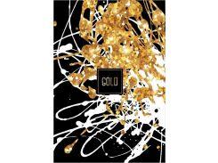 Блокнот Аркуш Gold 150 × 210 с большой фиолетовой клеткой 7 мм 80 листов (1В966)