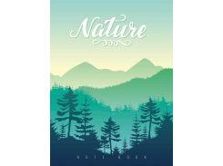 Блокнот Аркуш Nature 17,0 × 23,0 см в точку 80 листов (1NB878)