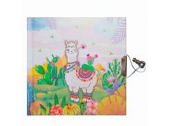 Блокнот детский Malevaro Веселая лама 13.5 × 13.5 см 56 л. (481902-U)