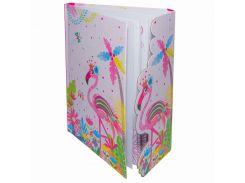 Блокнот детский Malevaro Розовый фламинго 21 × 13.5 см 80 л. (MB32-1853)