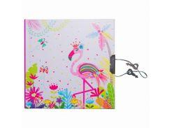 Блокнот детский Malevaro Фламинго розовый 13.5 × 13.5 см 56 л. (481853-U)