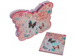 Блокнот на замочке в сумочке, Pretty Butterfly, Malevaro