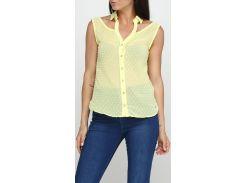 Блузка желтая, размер S, Zarga