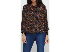 Блузка, цветочный принт, размер S, Radda
