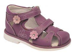Босоножки для девочек, пурпурные, Lapsi (25)