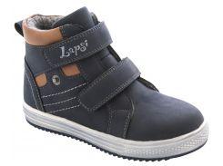 Ботинки для мальчиков 5518-1647, синие, Lapsi (Arial) (37)