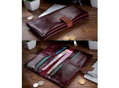 Бумажник HiArt WP-06 Crystal Sangria (WP-06-C19-1718-000)