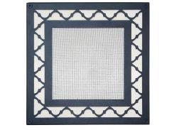 Вентиляционная решетка Steel Decor Arabic черная (std-001)