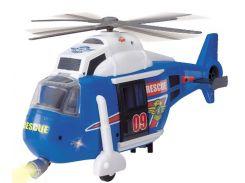 Вертолет Служба спасения с лебедкой, 41 см, Dickie Toys