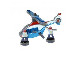 Вертолет, Мягкий конструктор-игрушка серии Конструктор на ладони, Умная бумага