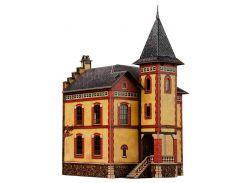 Вилла в Виллемомбле, Сборная модель из картона, Умная бумага