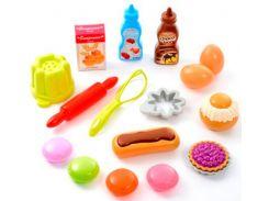 Вкусный десерт, набор продуктов в сетке, Ecoiffier