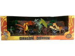 Владения драконов, серия В (9 фигурок), HGL