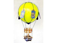 Воздушный шар, Сборная модель из картона, Умная бумага