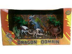 Волшебные драконы Серия A (6 фигурок), HGL