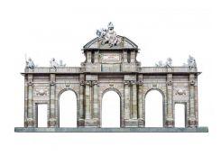 Ворота Алькала. Сборная модель, Умная бумага