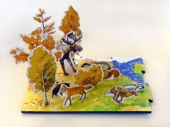 Времена года Осень, Развивающая игра, Умная бумага