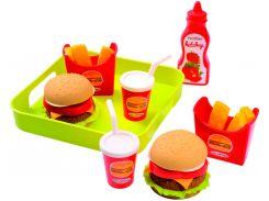 Гамбургер, набор продуктов, Ecoiffier