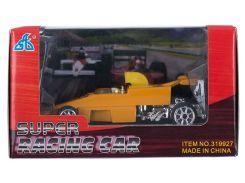 Гоночный автомобиль, машинка мини, оранжевая, GW